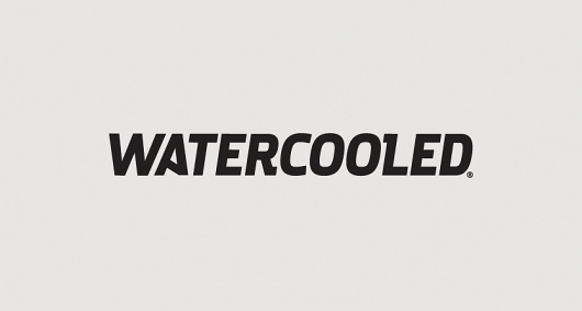 Watercooled | Branding Design | A-Side #logo #identity