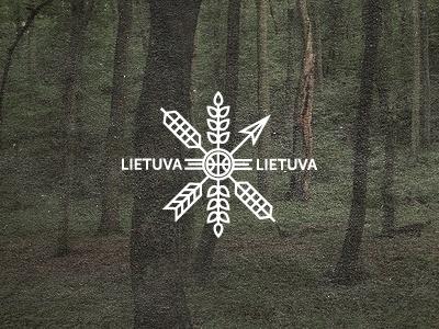 Dribbble - Lietuva - Lithuania by Julius Seniūnas #icon #logo #identity