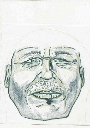 fency face on the Behance Network #face #head #pencil #sketching