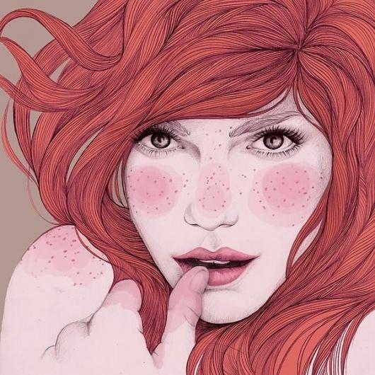 Mercedes deBellard illustration on Illustration Served #illustration