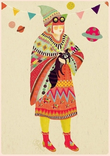 PEARL AND HER RACCOON BUDDY by *bloodykirka #fantasy #deviantart #http #digital #com #bloodykirka #art