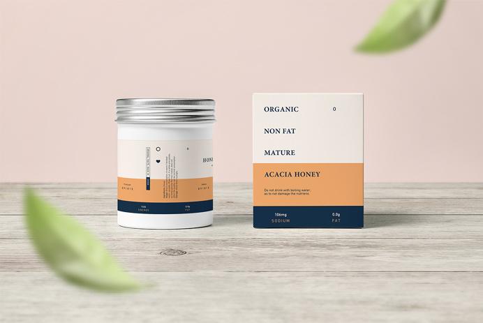 Myiu Tea #typography #packaging