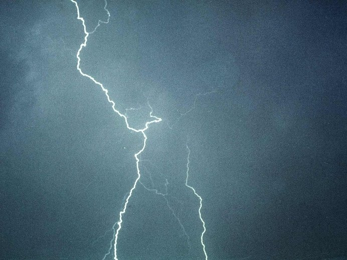 The Strike - Limited edition print #clouds #weather #electric #sky #thunder #lightning #strike