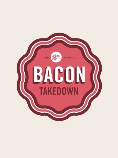 Bacon TD - Allan Peters #logotype #bacon