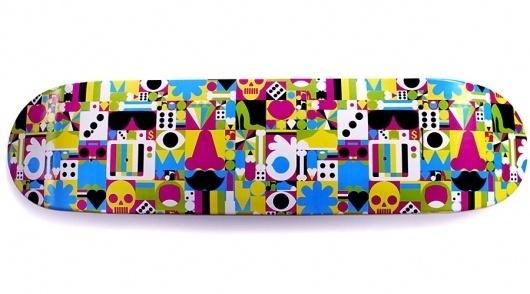 Craig Redman » Patterns #skateboard #rinzen #cookie #collective
