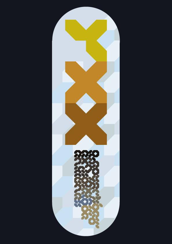 LCD LSD #font #lcd #digital #poster #typography