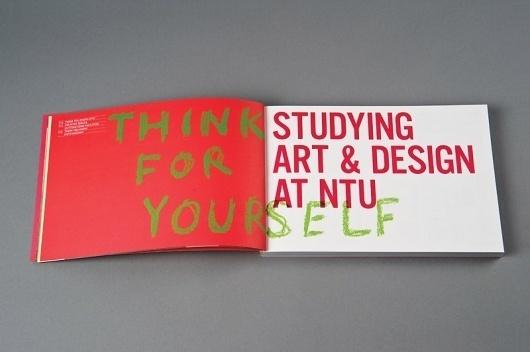 NTU Art & Design Book 10/11 : Andrew Townsend #layout #book #typography