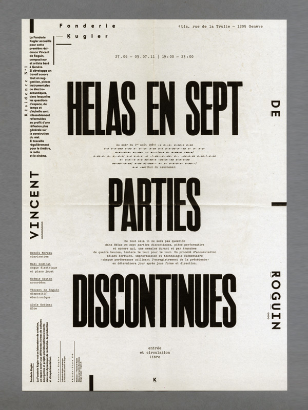 Alex W. Dujet | Arcademi #design #poster