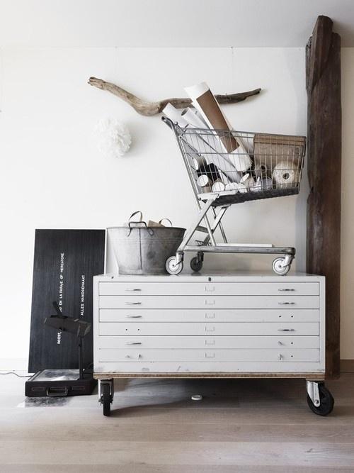 From http://convoy.tumblr.com #interior #design #industrial #casual