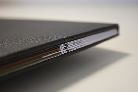 The High Line, ISTD on the Behance Network #spine #slip #book #cover #typography