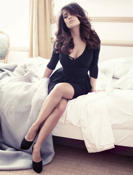 Salma Hayek for Vogue Germany #vogue #woman #people #photography #fashion