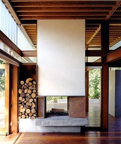 Essence of Home | Shim-Sutcliffe Architects | Flickr - Photo Sharing! #interior #shimsutcliffe #architecure #fireplace