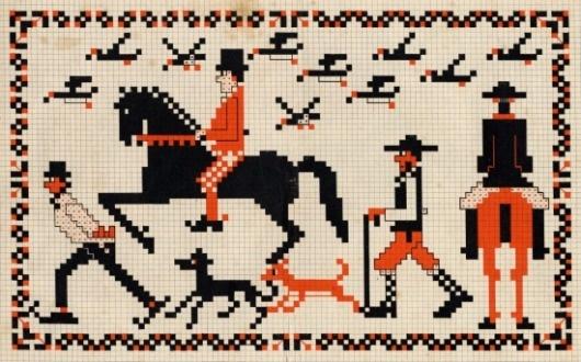 Present&Correct #illustration #pattern #stitch #animals