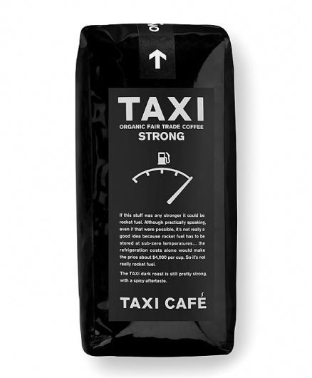 TAXI CAFÉ Black #packaging