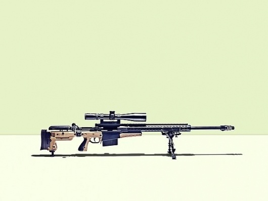 SIOBHAN SQUIRE - James Day: Personal #scope #gun #sniper #photography #minimal