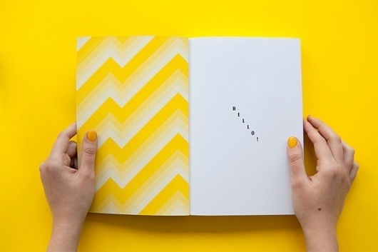 It's Nice That : The Milan Review of the Universe #print #brochure