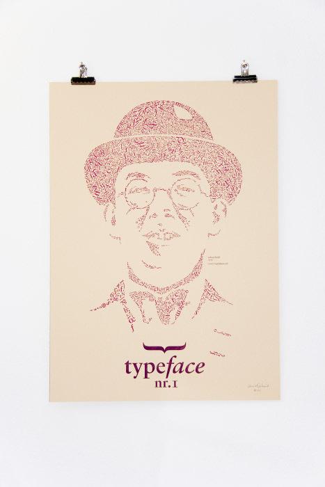 Typefaces Nr.1 #design #tschichold #portrait #typeface #jan #type #face #typographie