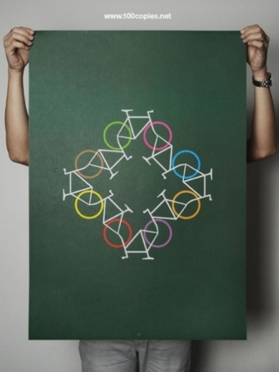 100copies #recycle #100 #copies #print #bike #cycling