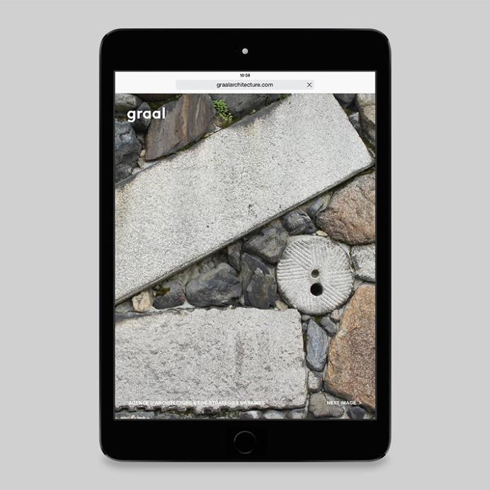 Graal Architecture by Untitled — Paris #web design #website