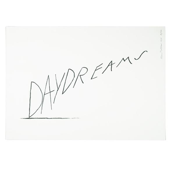 Limited edition print: Daydreams | Alan Fletcher #logo #logotype #daydreams