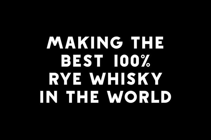 Custom typeface designed by Werklig for Kyrö Distillery Company #bottle #whisky #custom #type #werklig #typography