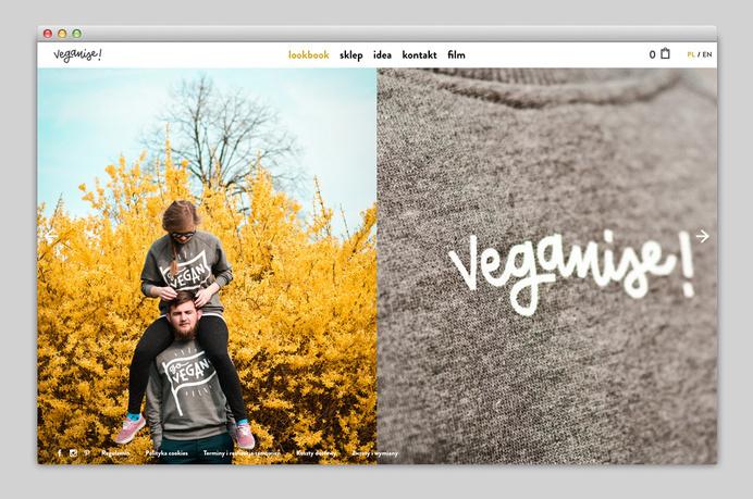 Websites We Love — Showcasing The Best in Web Design #buy #agency #veganise #sweatshirt #portfolio #design #best #website #ui #hoodie #minimal #webdesign #vegan #fashion #web #typography