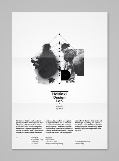 Helsinki Design Lab | Shiro to Kuro #paper #poster