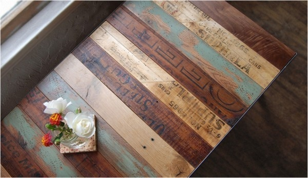 2_magneticgrain reclaimed wood resurface table pallet design #wood #table #reclaimed