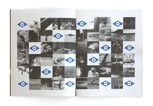 I See You Not Seeing Me – Works of Designer Colin Dunn #dunn #spread #print #colin