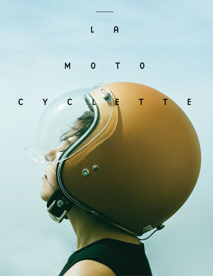 La Moto Cyclette Cover — The Women's Motorcycle Exhibition #moto