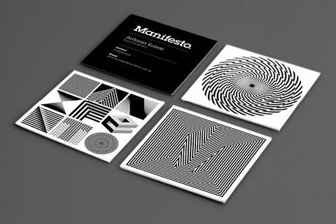 Actualité / Du noir et blanc, des illusions et du mouvement / étapes: design & culture visuelle #and #white #black #typography