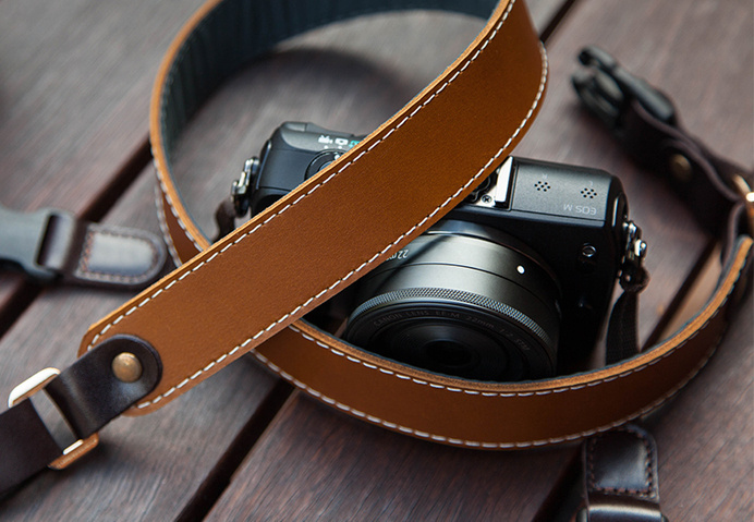 Redier Hazel – HandCrafted, Genuine Leather Camera Strap #tech #flow #gadget #gift #ideas #cool