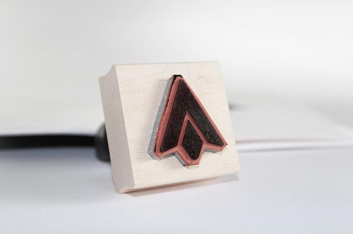 Personal Logo design #logodesign #graphicdesign #branding #flint #arrow #inkstamp www.ashflint.com