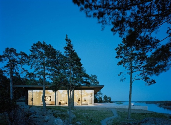 The Glass House in Stockholm Archipelago 18