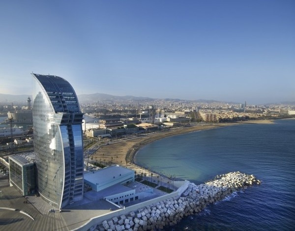 CJWHO ™ (Bofill Arquitectura   W Barcelona Hotel W...) #spain #design #landscape #photography #architecture #barcelona #hotel #luxury