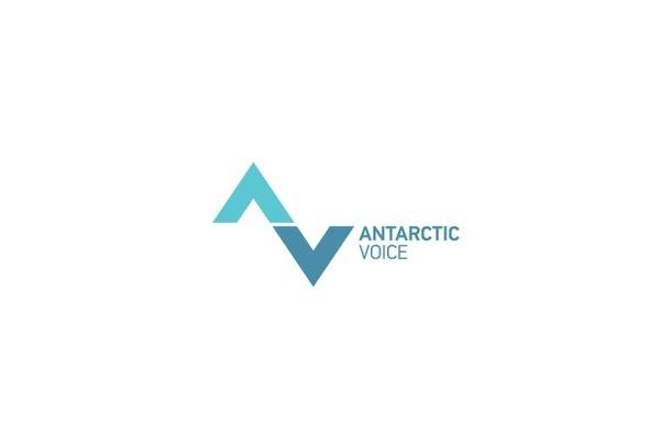 Antarctic Voice #logo #design