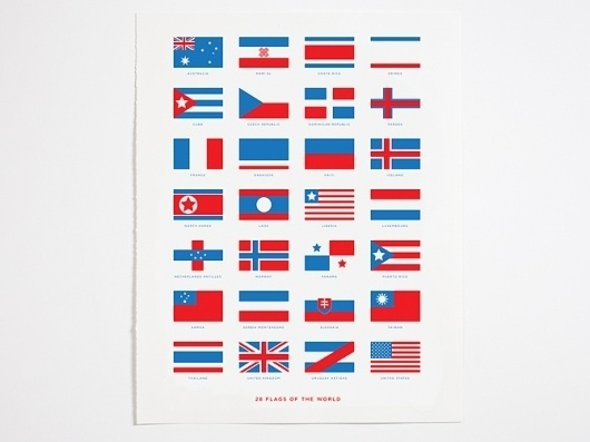 28 Flags of the world - Crispin Finn #flags
