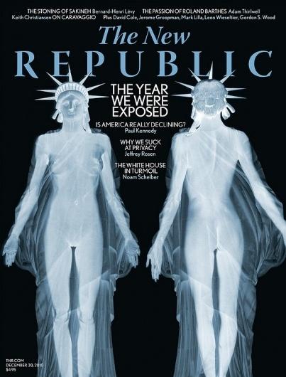 Cover of the Day, December 15, 2010 - Grids - SPD.ORG - Grids #usa #liberty #flight #tsa