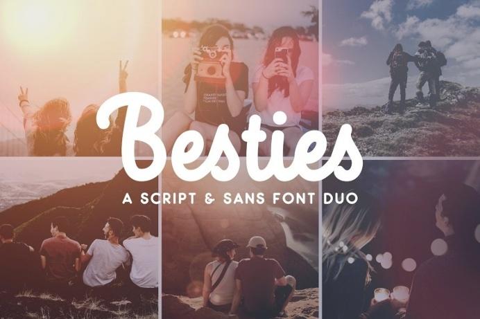 Besties – Font Duo
