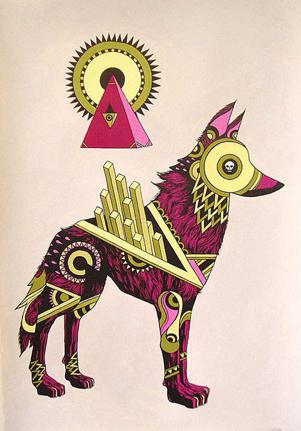 http://www.juxtapoz.com/images/stories/dog3.jpg #illustration #dog