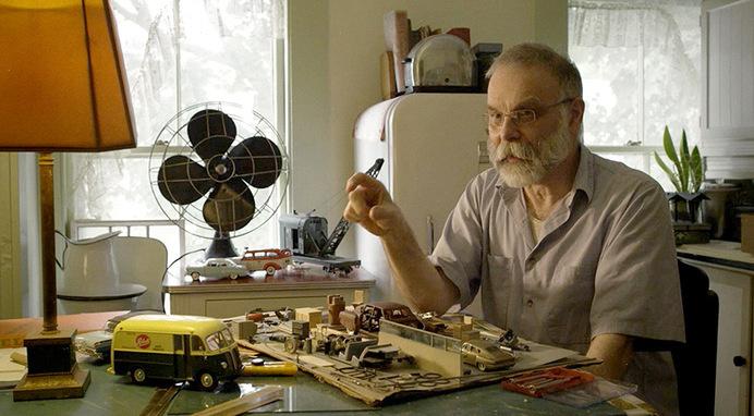 elgin-6 #sculpture #diorama #elgin #park #art #miniature #car