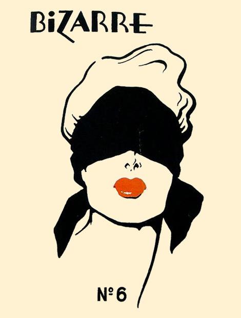 Bizarre No.6 #binding #bizarre #bonding #woman #lips #cover #face #magazine
