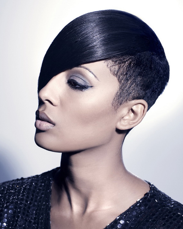 30 IDEAS OF SHORT BLACK HAIRSTYLES