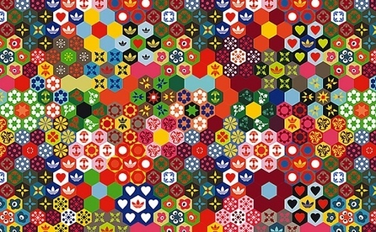 Adidas Patterns – Graphic Design inspiration on MONOmoda #adidas #pattern