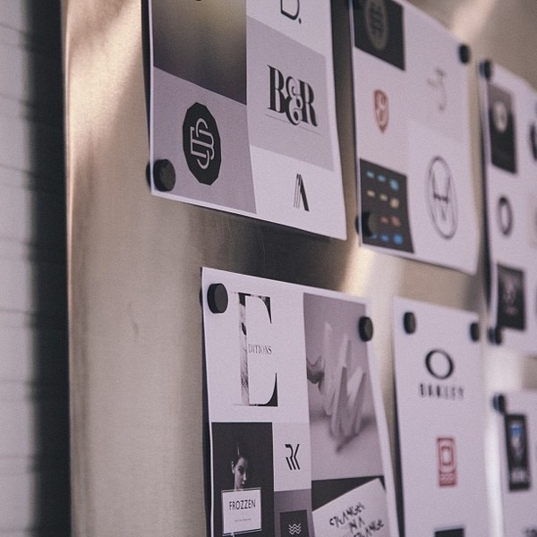 Mood Board | http://bravepeople.co #moodboard #print #office #people #photography #identity #concept #logo #brave #typography