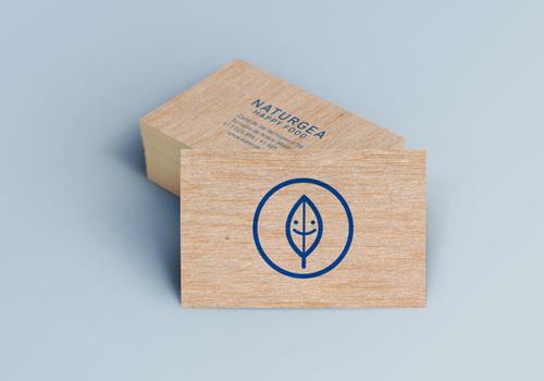 Naturgea Happy Foodby Silvia Fernandéz Palomar #logo #leaf