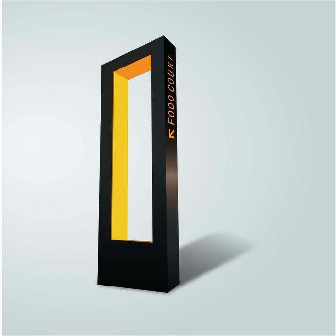 Wayfinding | Signage | Sign | Design 发光导视牌