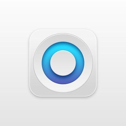 Circle / Icon by Michal Simkovic #icon #design #iphone #illustration #app #ios