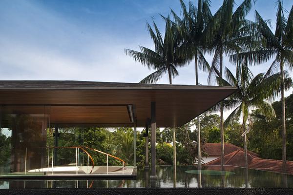 CJWHO ™ (Water Cooled House, Bukit Timah, Singapore |...) #design #watercooled #wood #pool #photography #architecture #timah #bukit #singapore #luxury