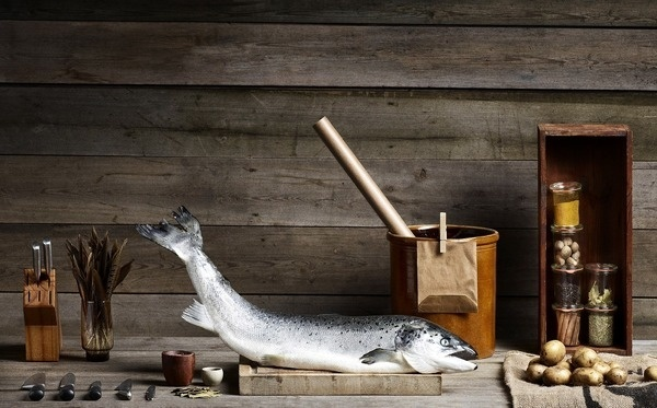 SUBMISSION: Nordic fish by Photographer Asger Simonsen #wood #photography #organized #fish